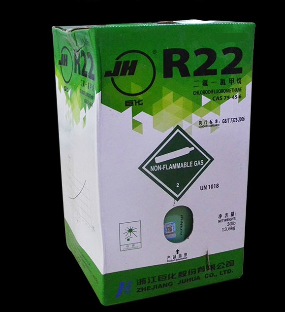 F22 R22 air conditioning refrigerant Juhua liquid Freon cold snow for coal 13.6KG/22.7KG