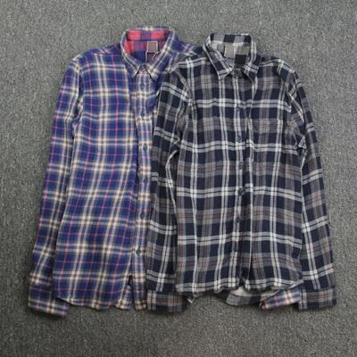 美国高端复古 男士双面穿着 纯棉柔软面料 长袖衬衫原单