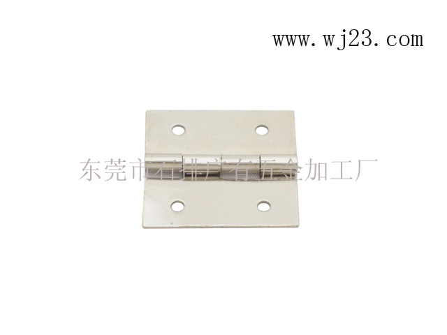 Copper direct hinge / Dongguan loose leaf / jewelry box hinge 18*17*0.5