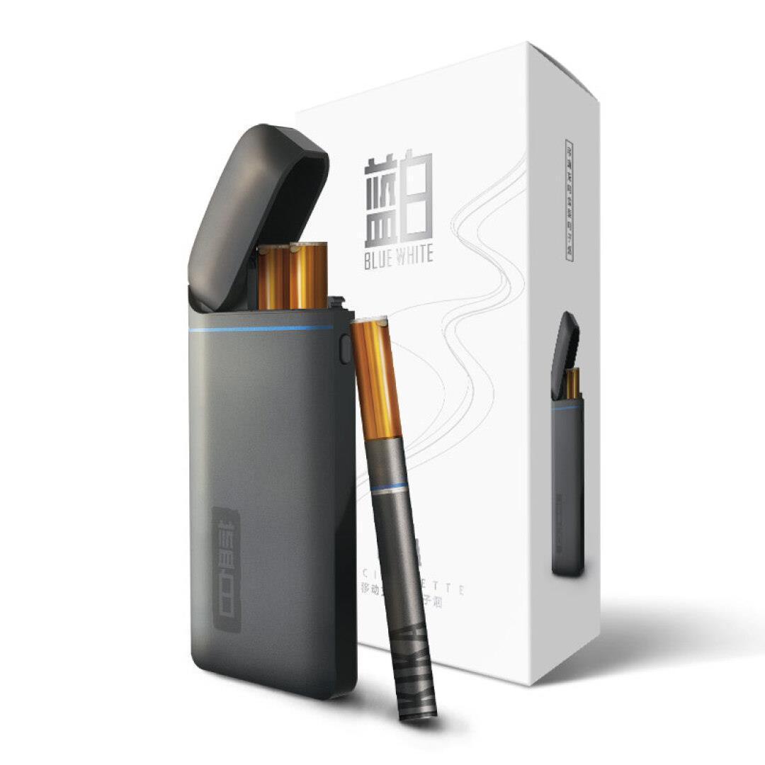 KIKA przenośne, niebieski i biały dym, dym opłat elektronicznych e - ceramiczne pary 1 zestaw płynne kika rdzenia.