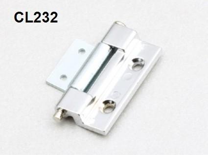 Cl232 puede quitar la Caja de puerta de bisagra de equipos industriales de maquinaria y equipo de construcción caso bisagras de aleación de zinc