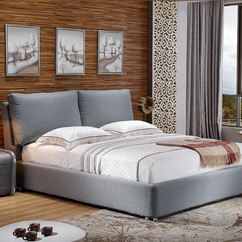 The detachable double bed cloth 1.8 meters of cloth bed bed bed simple modern large-sized apartment