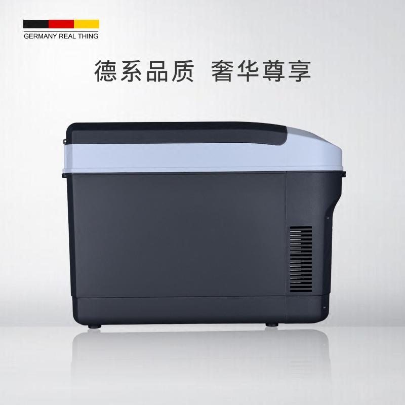 La casa de 25 l a bordo de la nevera mini refrigerador pequeño dormitorio doble aire acondicionado refrigeración doméstica.