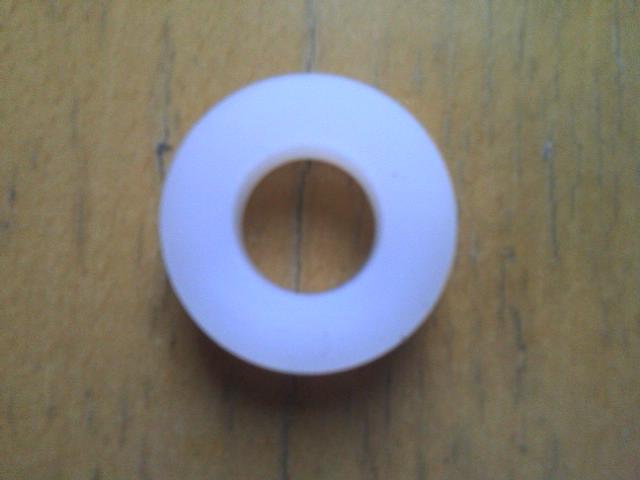 Silica gel friction wheel for DIY serve machine