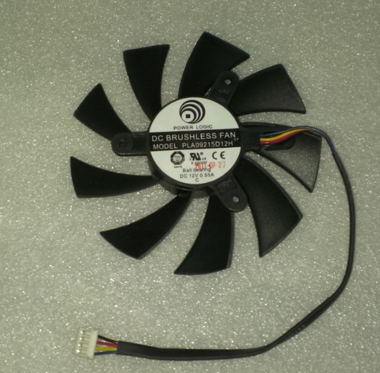msi N570GTX580GTXHD6870R6790R6770 grafiikkakortti fani, linja neljä lämpötila - fani.