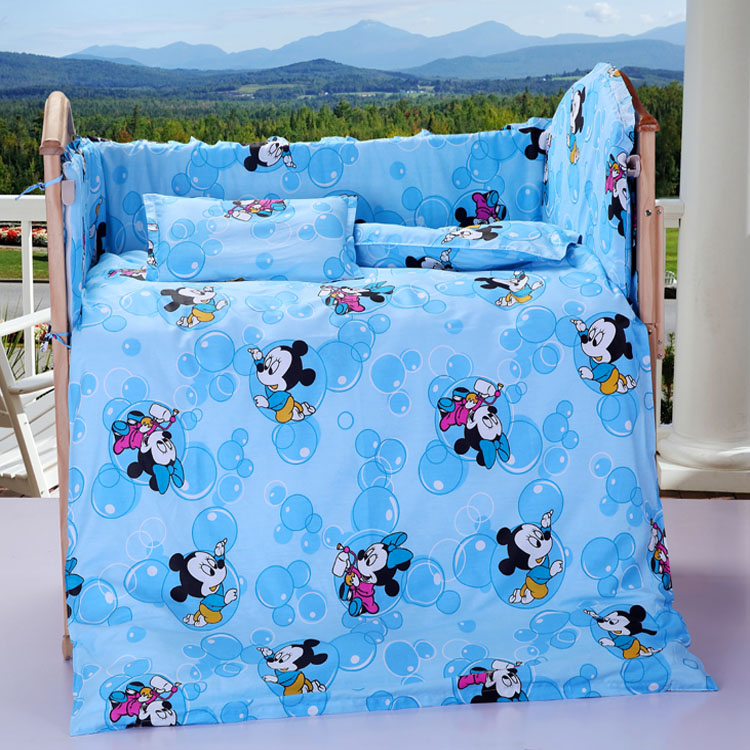 εννιά κομμάτια της κρεβάτι μωρό αρκούδα μωρό κλινοσκεπάσματα κρεβάτι μωρό μου κρεβάτι μωρό μου το βαμβάκι
