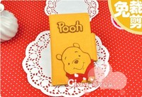 Creative DIY bear Long Wallet - free hand cut nonwoven materials wholesale special offer promotional package