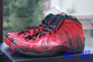 MR.狼 限量NIKE Air Foamposite One DB喷 慈善喷 641745600