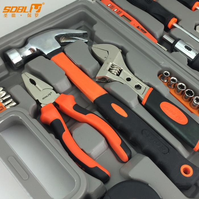 Hardware tool kit, household tool kit, water and electricity maintenance tool, screwdriver, wrench and pliers combination, Germany antirust