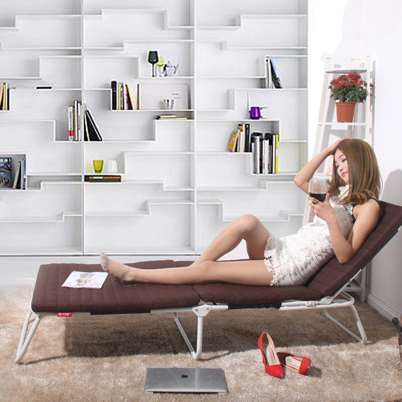Mengbao auténtico sueño simple sofá cama plegable la siesta a una niñera cama sofá de la Oficina