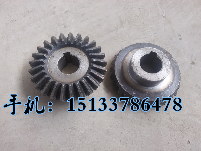 Nail box machine accessories, bevel gear set box machine, transmission gear, carton machinery parts