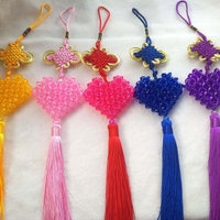 DIY handmade beaded material package, car pendant, jewelry materials package, manual preparation, flat love car hanging new products