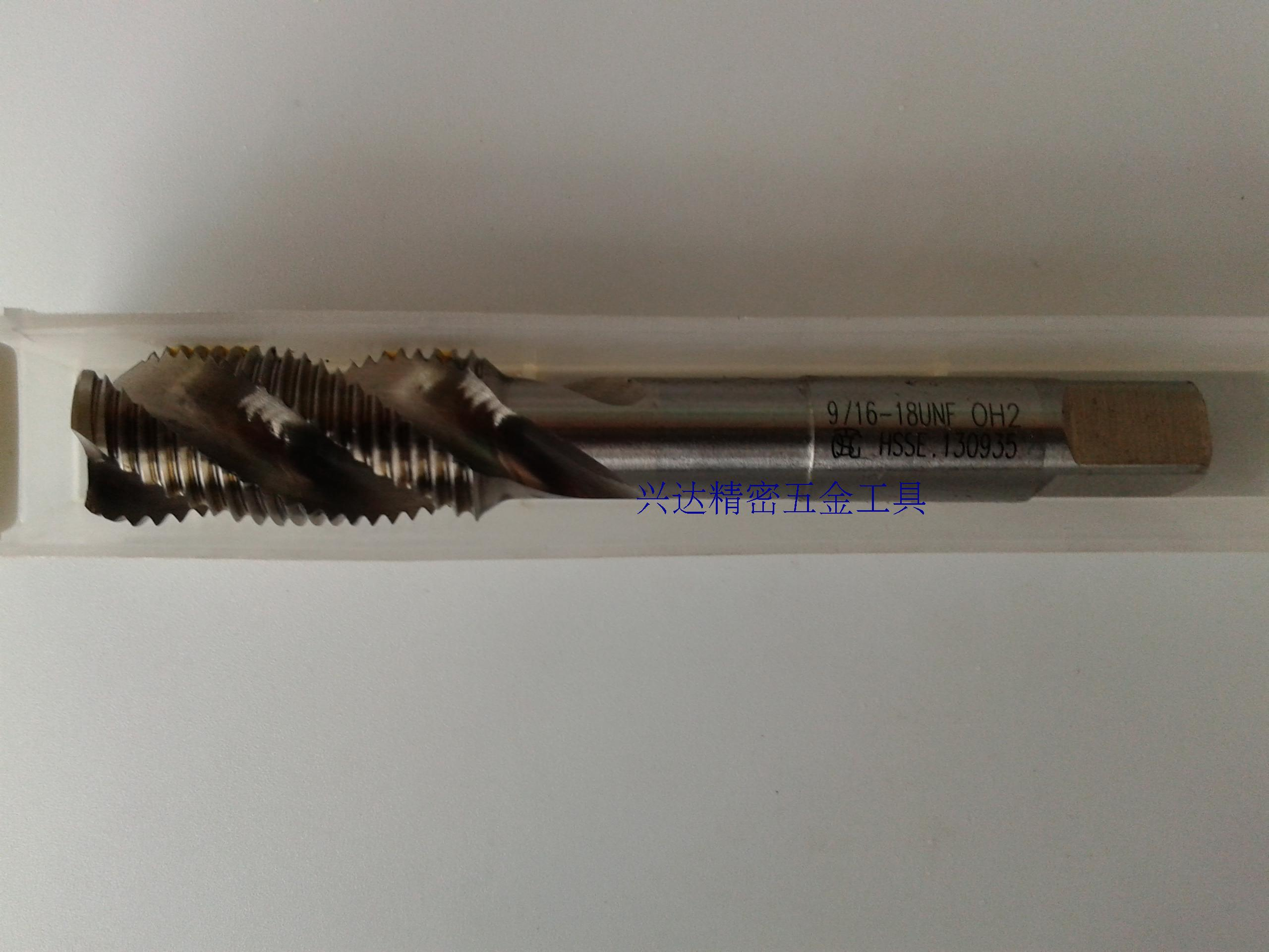 TOSG Dabao screw wire tapping UNC9/16-18 imported machine taps 7/16-143/85/16-18