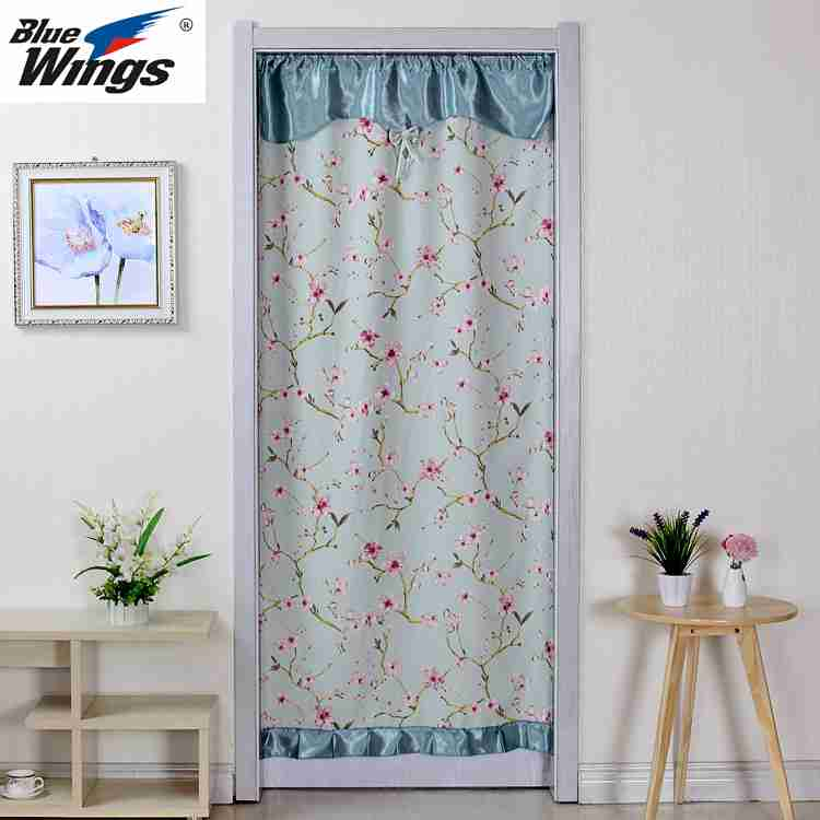 The curtain cloth curtain curtain curtain single feng shui bathroom bedroom kitchen curtain curtain changmen half curtain style