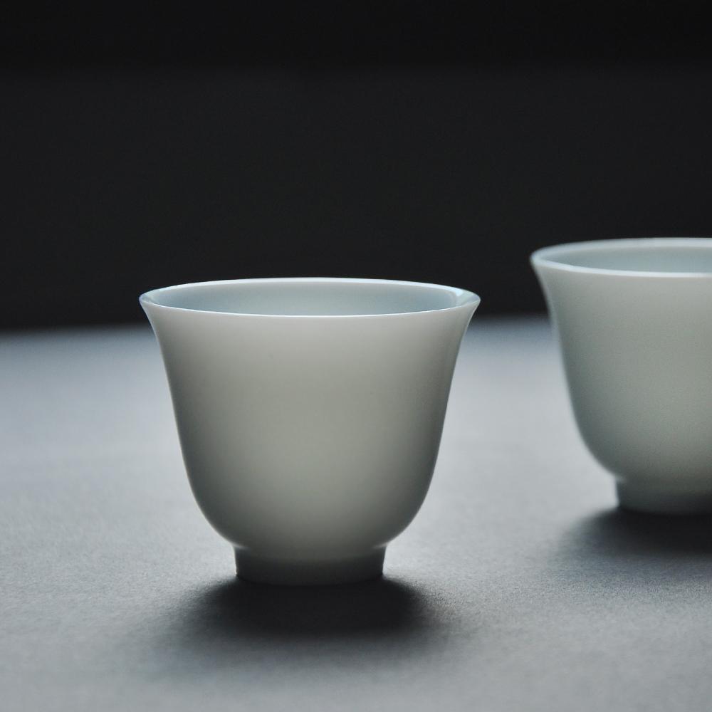 春泥玉泥花神茶杯主人杯景德鎮陶瓷品泡茶杯茗杯小茶杯 功夫茶杯