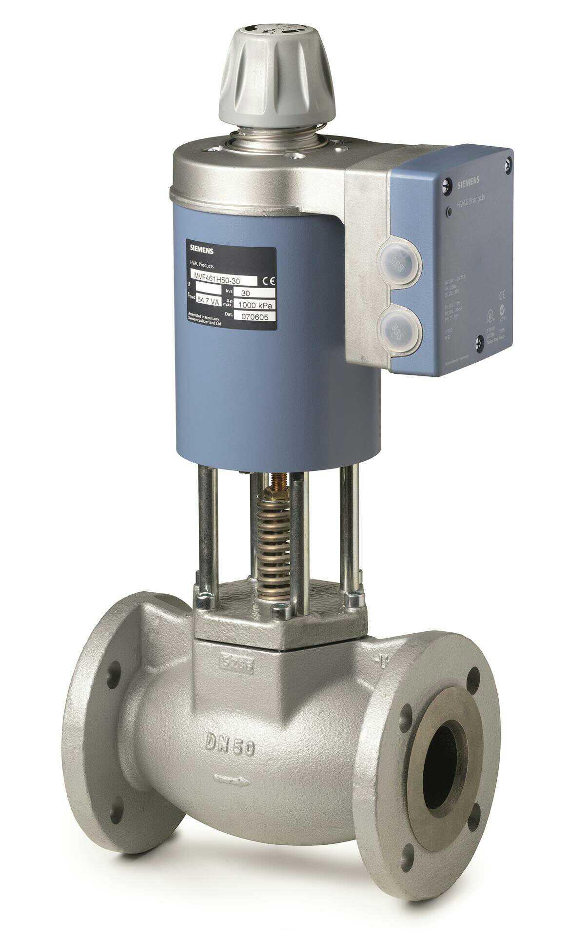 Siemens Siemens MVF461H25-8 vapor válvula eletromagnética 2 vias DN25 flange 1.