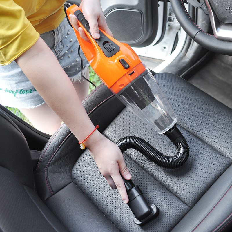 Vehicle vacuum cleaner, inflatable car pump, 12V powerful vehicle, household wet and dry power, four in one