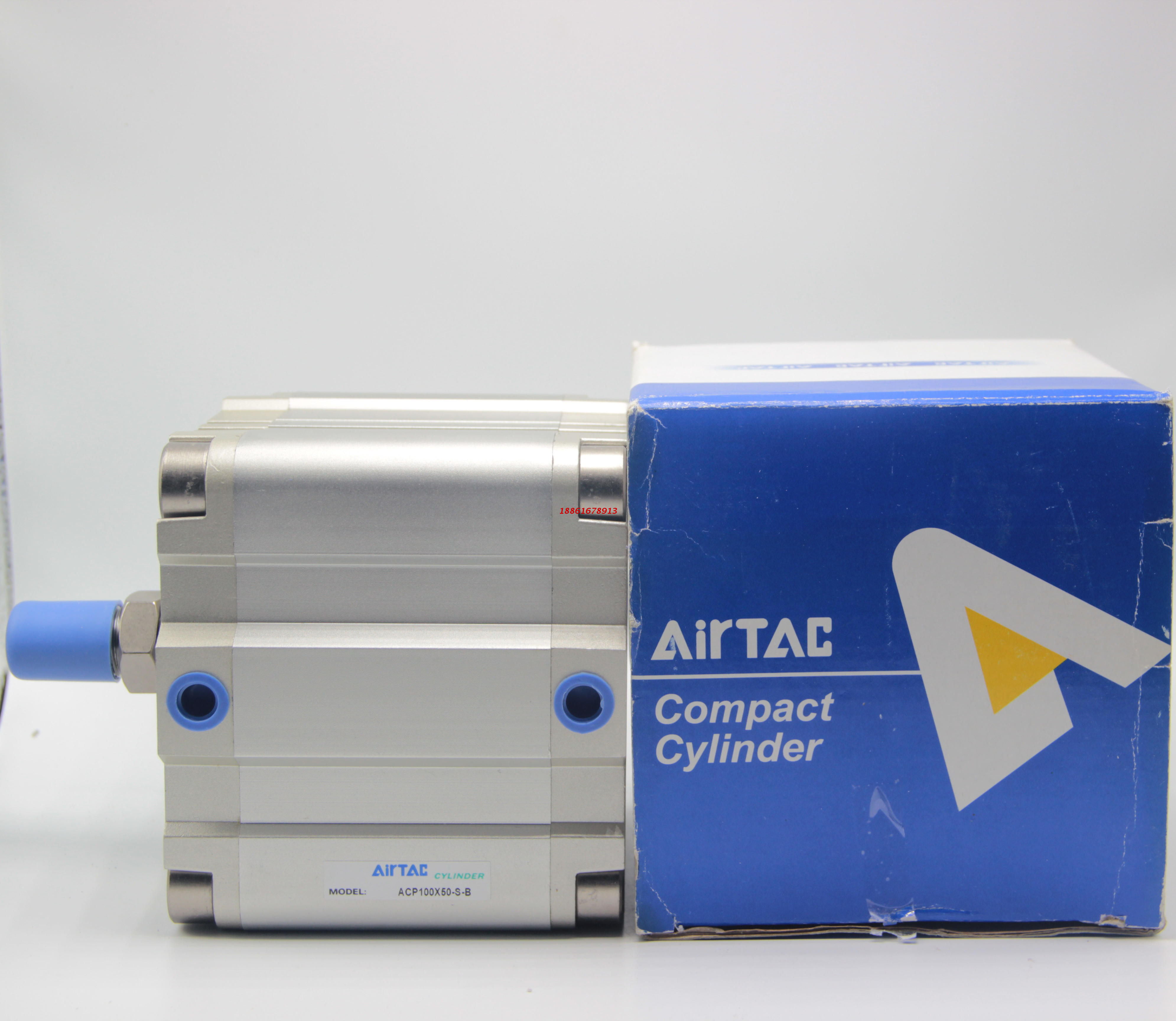 oprindelige airtac kompakt cylinder ACP63X5X10X15X20X25X30X35X40X45X50-S-B
