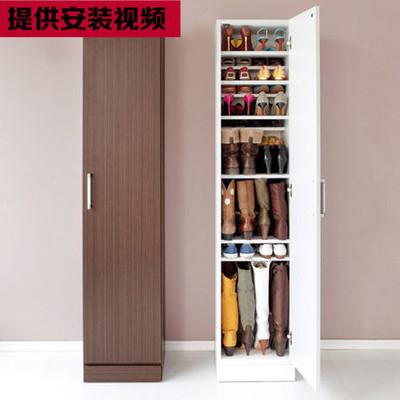 特价单门双门鞋柜简约三门四门鞋柜储物柜多层鞋架阳台柜可定做