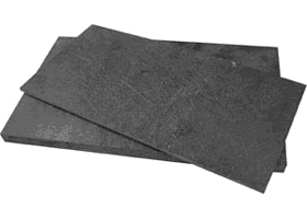Imported synthetic stone carbon fiber sheet high heat resistant black synthetic stone insulation processing