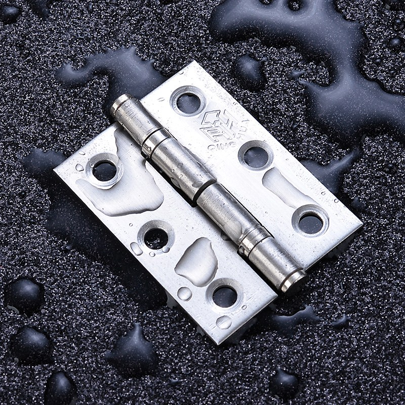 304 stainless steel bearing small hinge thickening flat open hinge 2 inch 2.5 inch 3 inch door and window door loose leaf folding