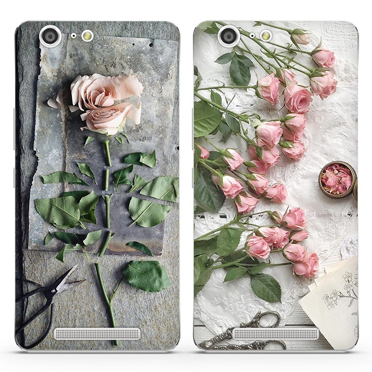 Jin M5 mobile phone shell silicone M6 protective sleeve m6plus soft shell creative personality fall female rose flower fresh
