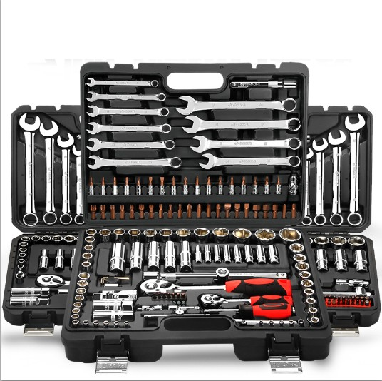 Automobile repair tool special automobile repair sleeve set, combination car, motorcycle combination toolbox, fire plug flower steam