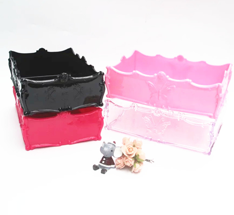 Nail collection box, three pieces of desktop finishing kit, tool box tray, a full set of nail towels, cotton pieces, office pencil set