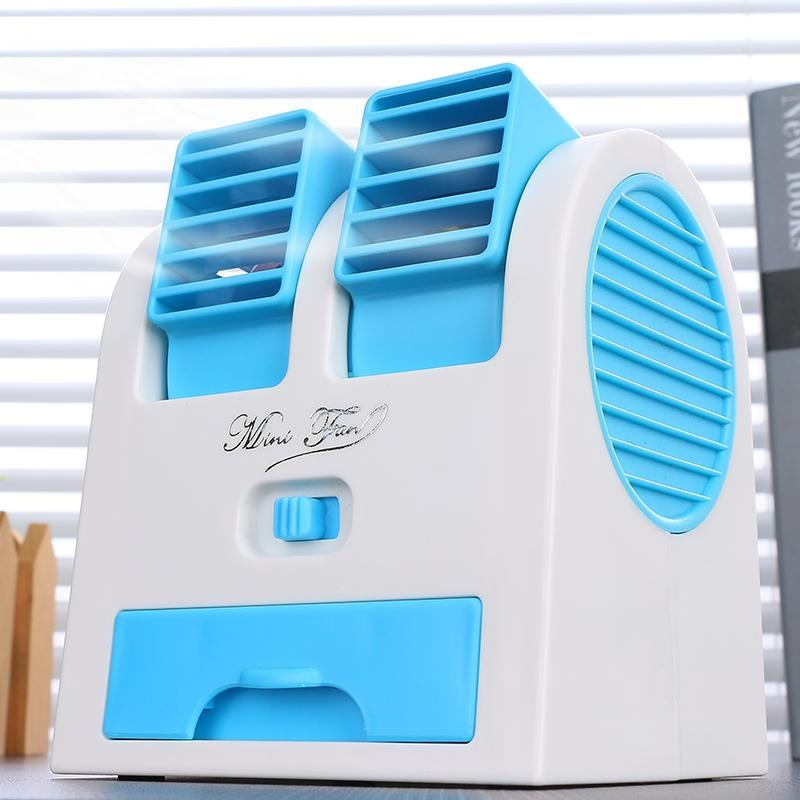 The summer cooling creative Small Mini Leaf air conditioning electric fan chanlengxing desktop mute cooler