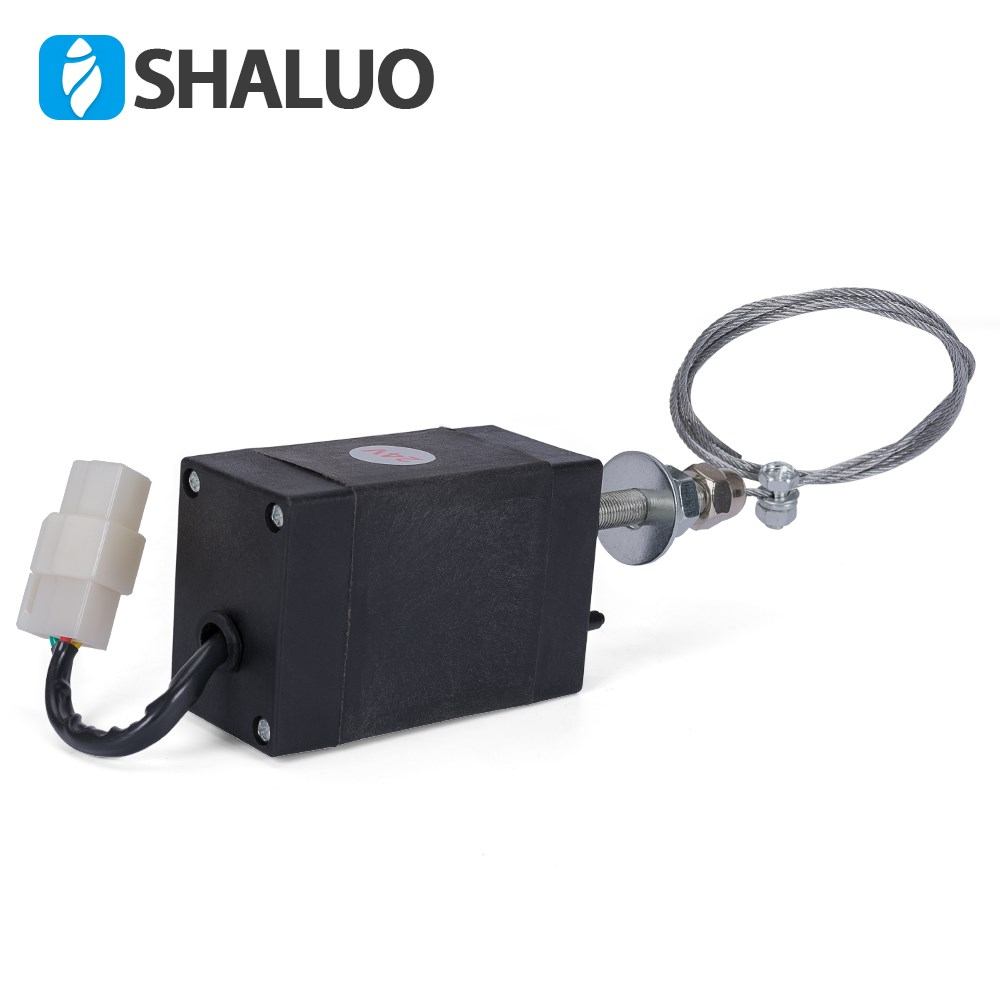 Marine diesel engine four in one controller throttle switch 24V oil flameout device 12V electronic stop