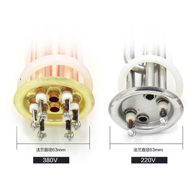 Original de los fabricantes de calentadores de agua automático de tubo de calor de calefacción de agua de 6 kW 3kw barras de cobre de 220V
