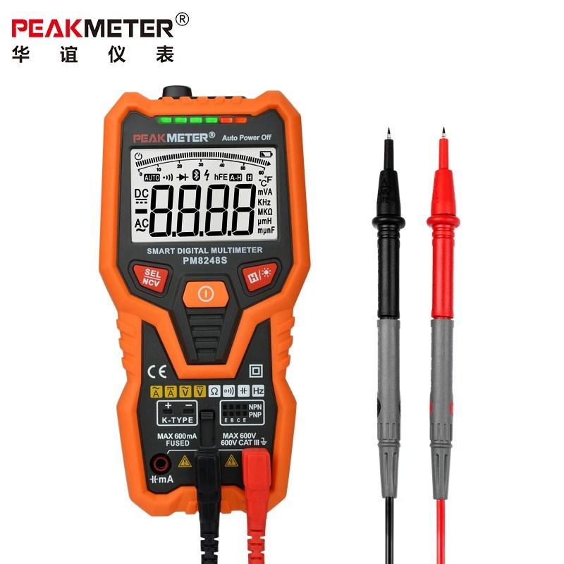 PM8248S ذكي متعدد الرقمية متعددة الوظائف التلقائي عالمية عالية الدقة الرقمية عرض الجدول الجدول مكثف