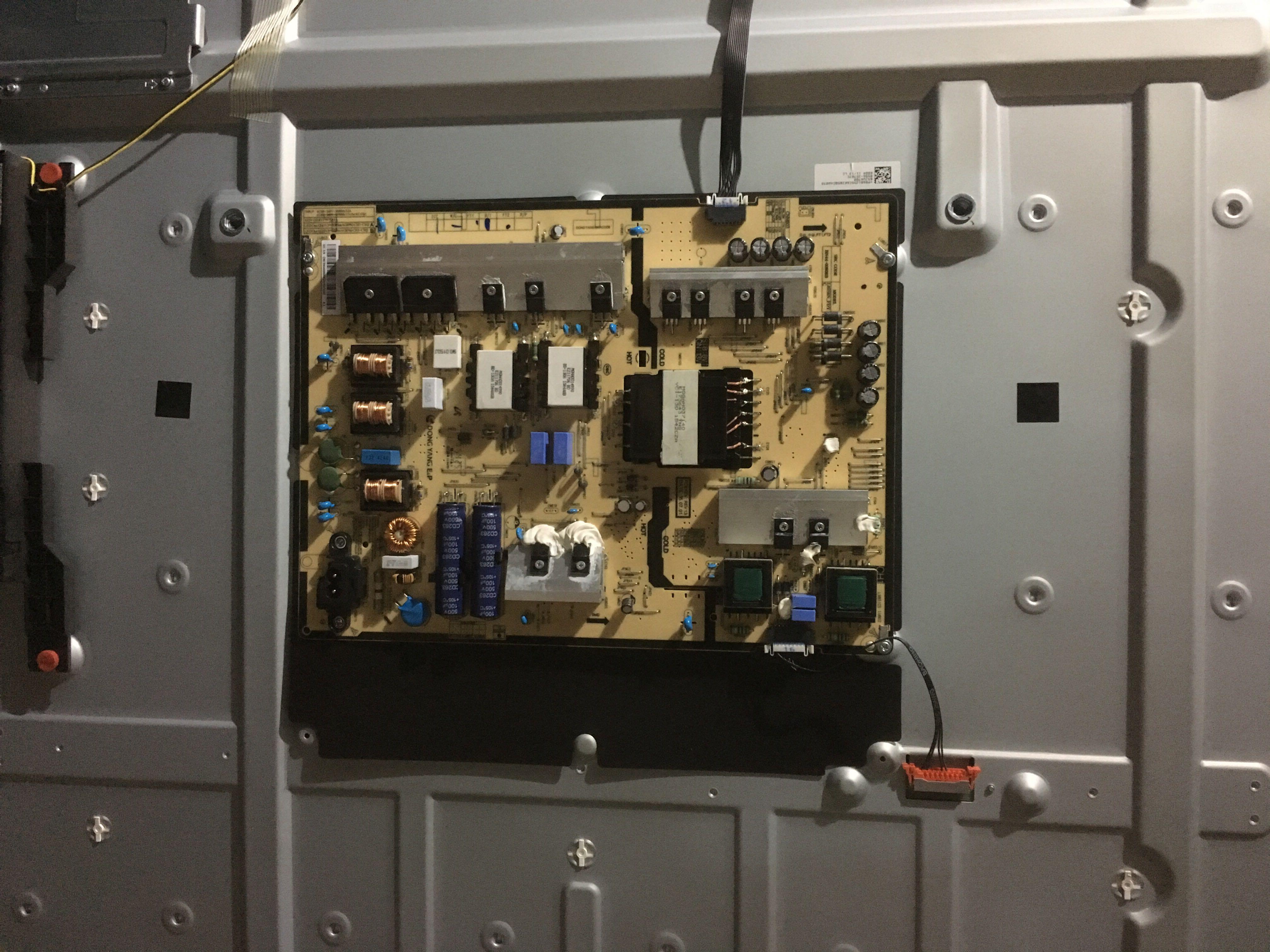 Samsung original de la plaque d'alimentation BN44-00808b UA65JU6800JXXZ
