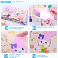 Children EVA manual three-dimensional painting, children's hand made materials package, children's puzzle baby handmade toys