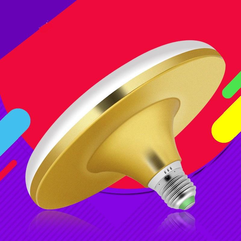 Screw power workshop lighting energy-saving lamp: small super bright LED bulb E27 indoor flying saucer