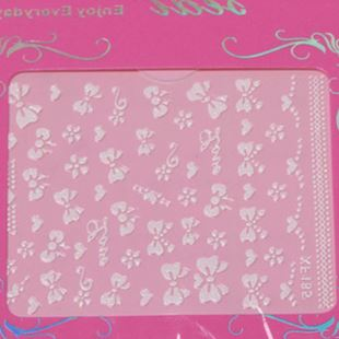 Set of decals, nails, nail tools, normal specifications, phototherapy patches, jewelry, a full range of new package mail
