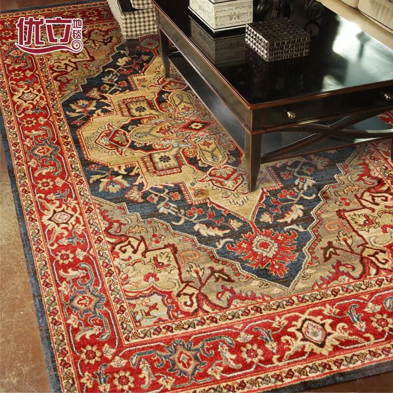トルコの輸入ペルシャじゅうたんの客間としてベッドルームとしてベッドルームのソファ
