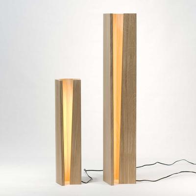 简约实木台灯 卧室氛围灯 北欧风格装饰灯 创意气氛灯 无极调光