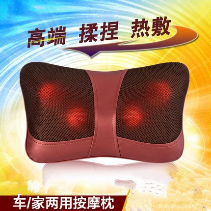 Automotive massage pillow, cushion, car, home dual-use, waist shoulder, neck, waist electric whole body multi-function