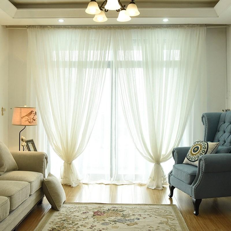 ristin 麻纱超仙窗纱纱帘 makuuhuone, olohuone, joka verhot. valkoinen lanka erityistä lupaa.