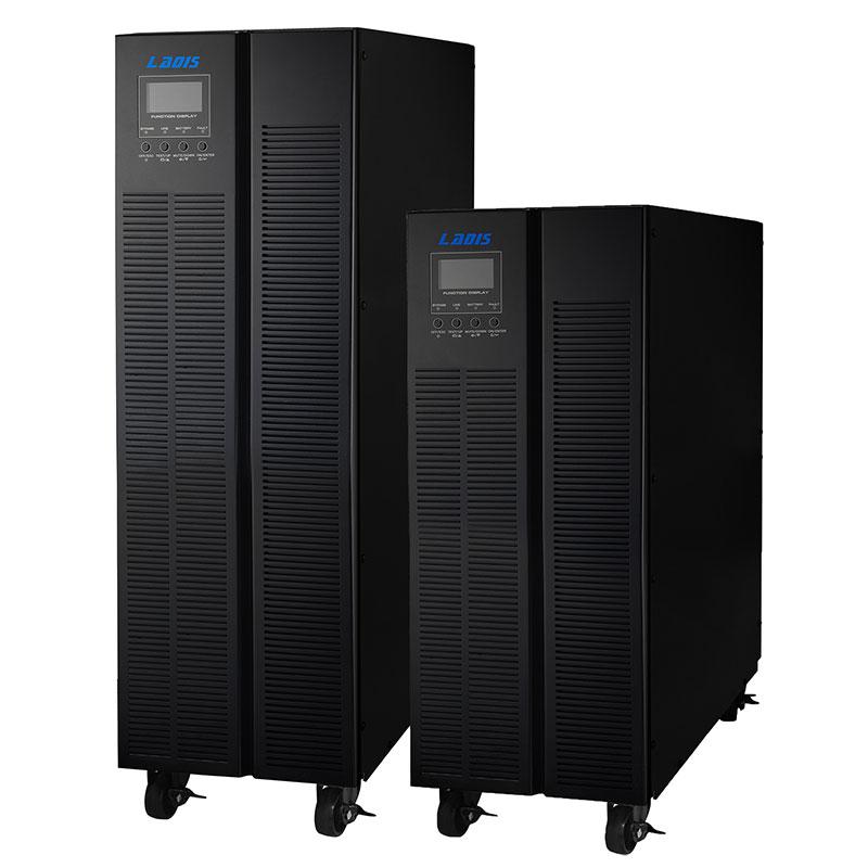 Our 380V20KVA Reddy external battery UPS power three single host 16KWG31-20KL