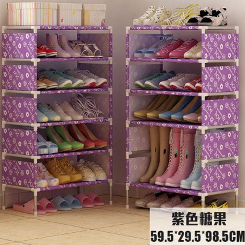 La residencia de estudiantes de economía simple zapato de acero inoxidable tipo mini - dormitorio pequeño zapato especial multicapa cama plegable