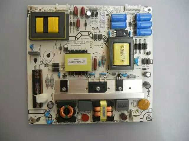 Hisense LED46K160JD46 inch LCD TV power board high voltage backlight motherboard circuit driver boost