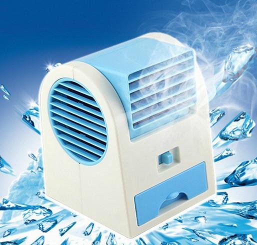 творчеството на електрически мини фен usb овлажнител общежитие фен на въздух за охлаждане на леглото на малки климатик мини фен на батерии