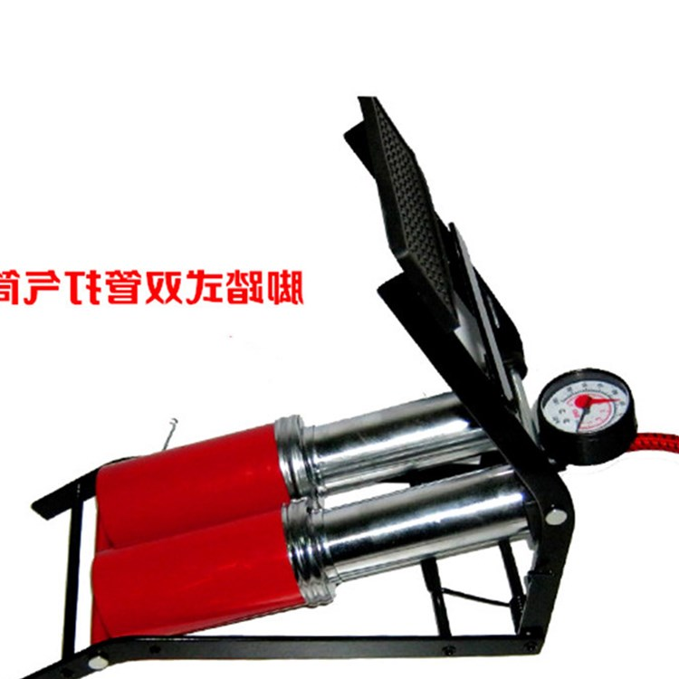 Multi-purpose outdoor car bed manual pump car air pump on the mini portable high pressure inflator