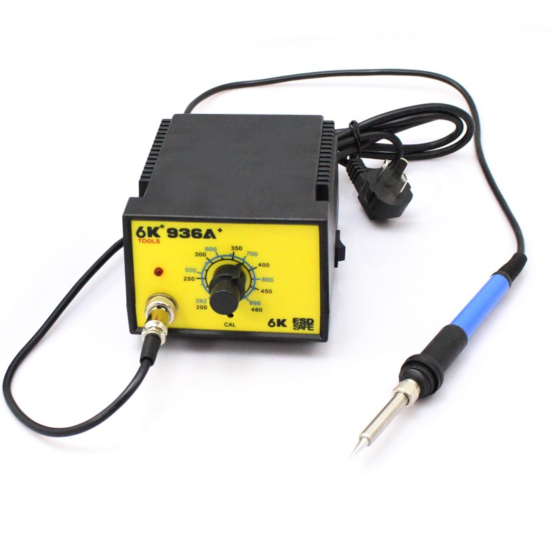 Shipping thermostat thermostat welding machine 936 Taiwan 60W lead-free soldering iron soldering station maintenance tool -936A