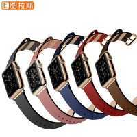 Turas Apple Watch iWatch Apple watch with leather watch strap iPhone protective shell parts of female