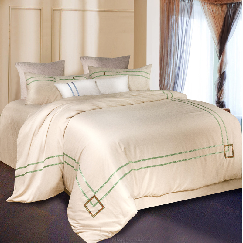 Satin silk quilt pure silk sheets, 4 sets of four sets of bedding Tencel summer silk silk