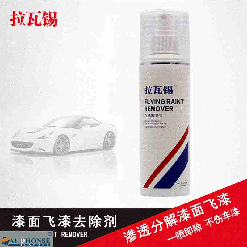 Automobile lacquer remover paint detergent glass cleaner body strength treatment paint cleaning agent