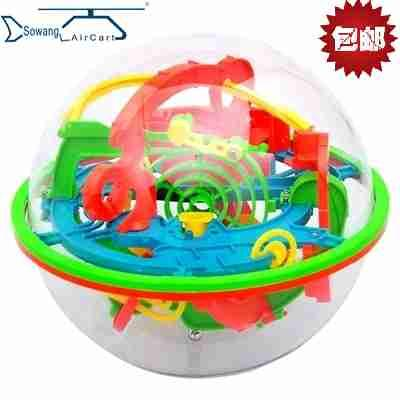 Love excellent stereoscopic labyrinth magic intelligence ball 3D stereoscopic 100 child puzzle toys